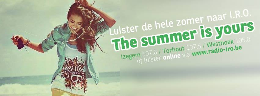 The Summer is Yours banner